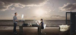 Δουλεύεις στο σπίτι με θέα τα νερά των Μπαρμπέϊντος